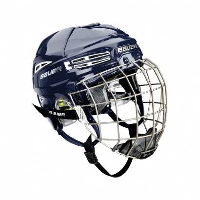 Hockey Helmet BAUER RE-AKT 100 Combo - NAVY