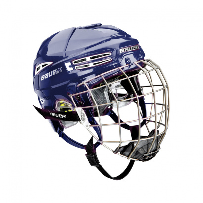 Hockey Helmet BAUER RE-AKT 100 Combo - BLU
