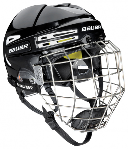 Hockey Helmet Bauer RE-AKT 75 Combo - BLK