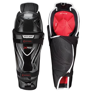 Shin Guards BAUER S18 VAPOR X800 LITE SHIN GUARD - JR