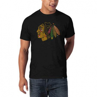NHL Chicago Blackhawks '47 SCRUM Tee