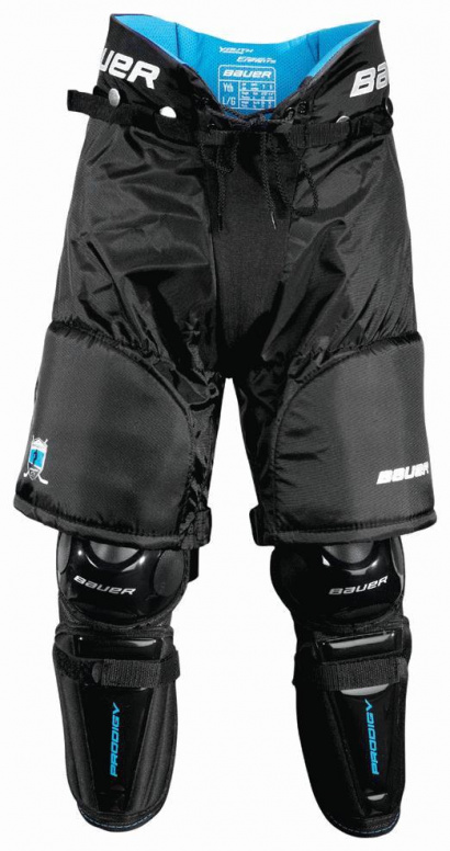 Shin Guards complet BAUER Prodigy Bottom Yth