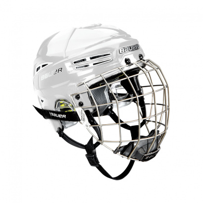 Hockey Helmet BAUER RE-AKT 100 Combo - WHT