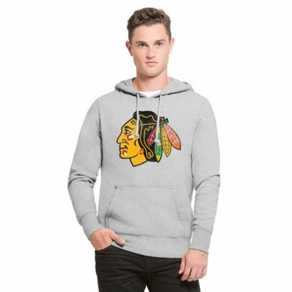 NHL Chicago Blackhawks Knockaround '47 HEADLINE Pullover mik