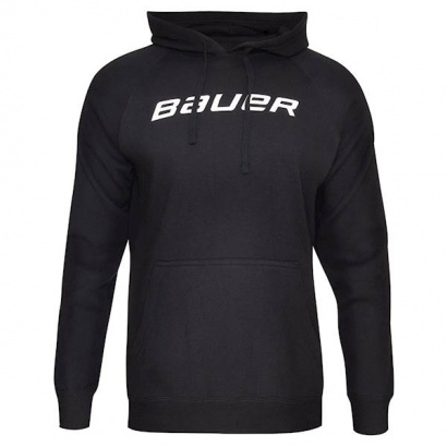 Hoodie BAUER CORE HOODY W/GRAPHIC YTH - BLK