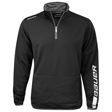Mikina BAUER EU TEAM JOGGING TOP YTH - BLK