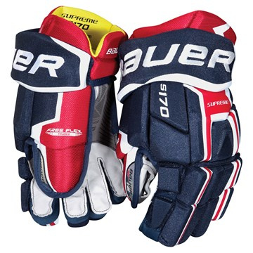 Hockey Gloves BAUER SUPREME S170 S-17 SR