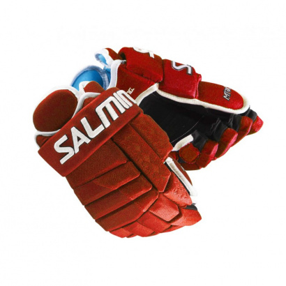 Hockey Gloves SALMING MTRX21 Red