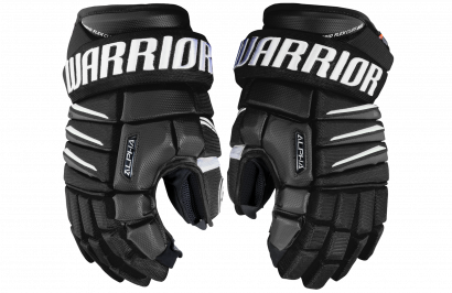 Hockey Gloves WARRIOR ALPHA QX SR BKW (BLACK/WHITE)