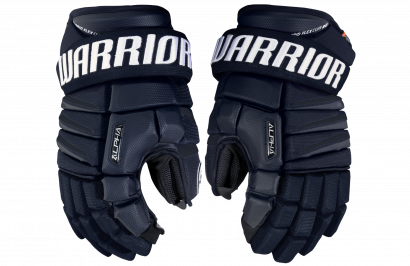 Hockey Gloves WARRIOR ALPHA QX SR NV (NAVY)