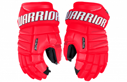 Hockey Gloves WARRIOR ALPHA QX SR RDW (RED/WHITE)