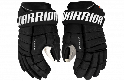 Hockey Gloves WARRIOR ALPHA QX PRO SR BK (BLACK)