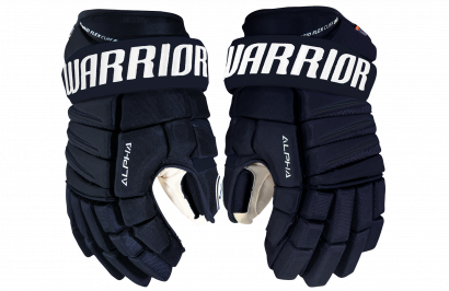 Hockey Gloves WARRIOR ALPHA QX PRO SR NV (NAVY)