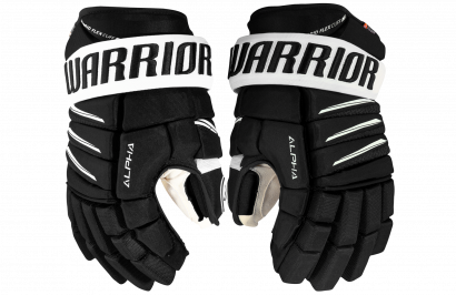 Hockey Gloves WARRIOR ALPHA QX PRO JR BKW (BLACK/WHITE)