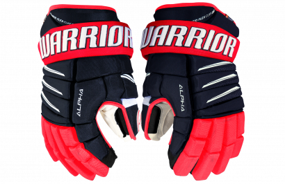 Hockey Gloves WARRIOR ALPHA QX PRO JR NRW (NV/RD/WH)