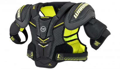 Shoulder Pads ALPHA QX JR