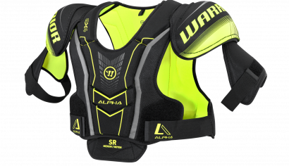 Shoulder Pads ALPHA QX4 JR